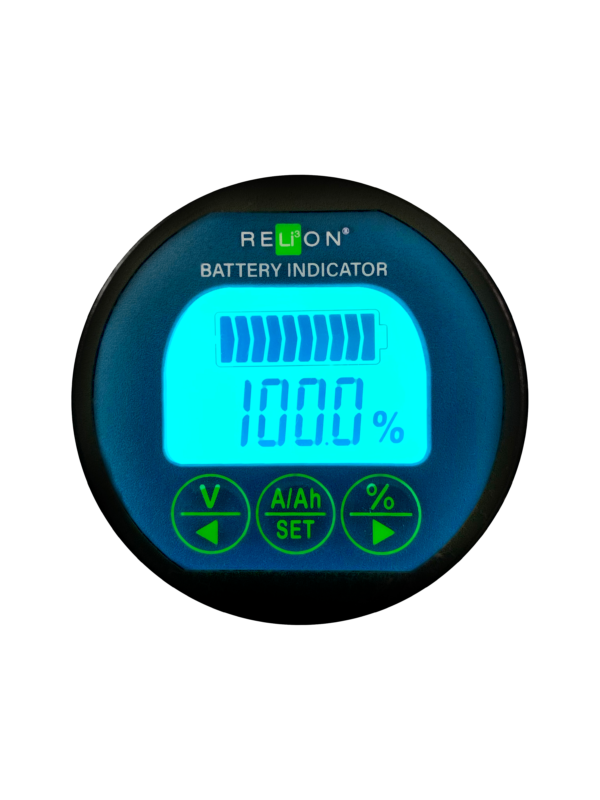 RELiON LiFePO4 Deep Cycle Lithium Batteries - Battery Indicator