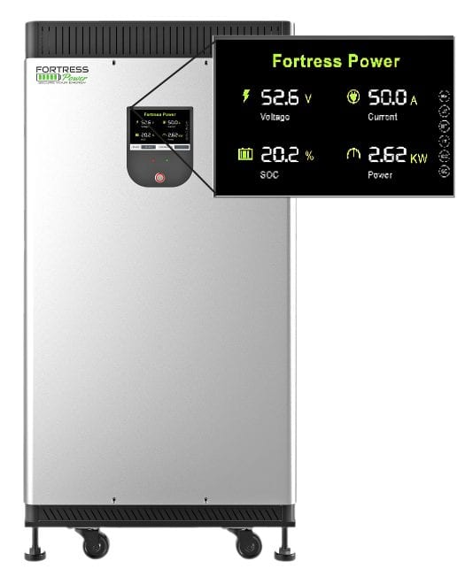 Fortress eVault 18 5kWh Lithium Battery