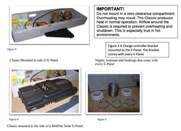 midnite solar classic 150 sl lite charge controller distributor