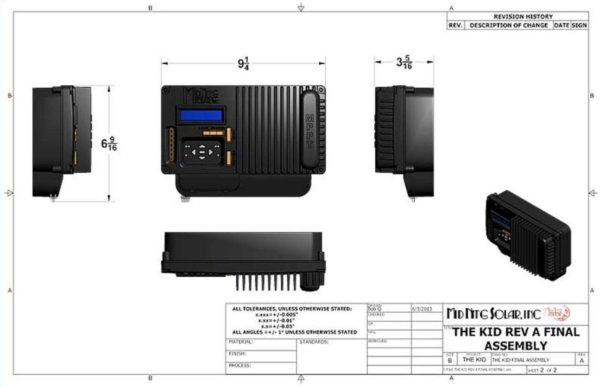 midnite solar mnkid w charge controller wholesale supplier