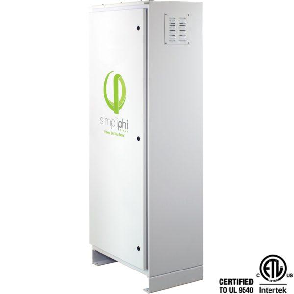 simpliphi power access phi sol ark left facing ul 9540 A 4PHI CC SCH PRO