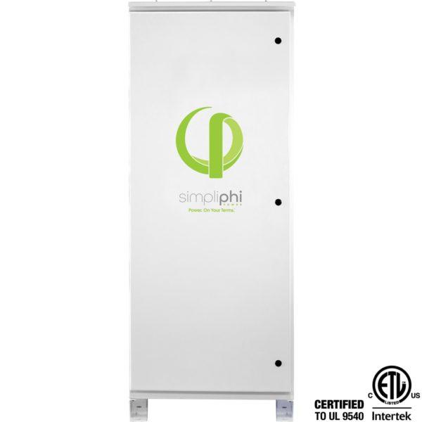simpliphi power access phi sol ark front view ul 9540 a 6amp sa 12