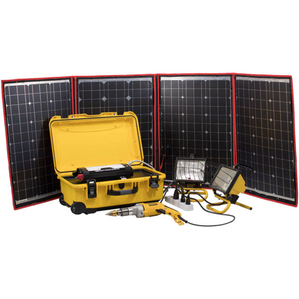 simpliphi power big genny emergency power kit demonstrated BG 1200 12 EK