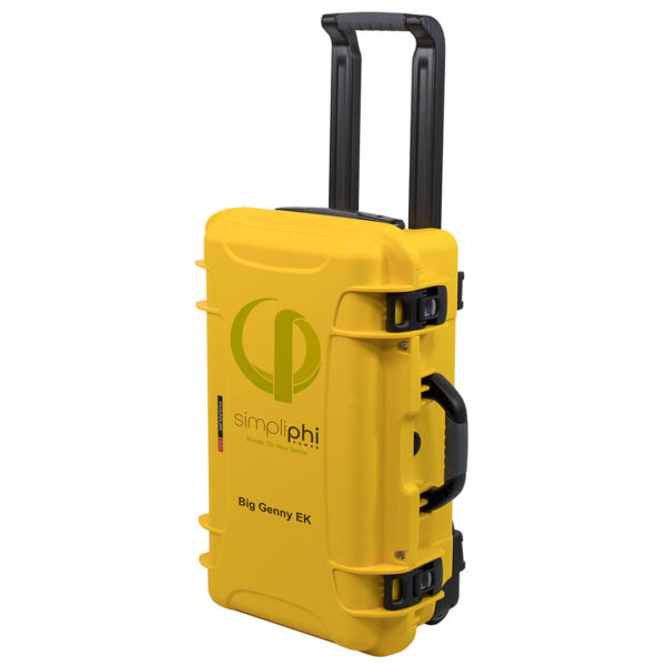 upright closed handle extended big genny emergency power kit BG 1200 12 EK