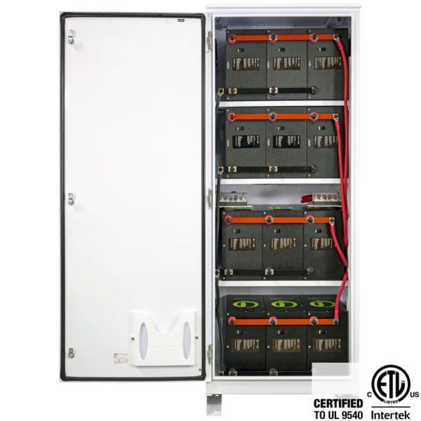 simpliphi power boss 12 0 battery only cabinet interior with door ul 9540 BOSS 12