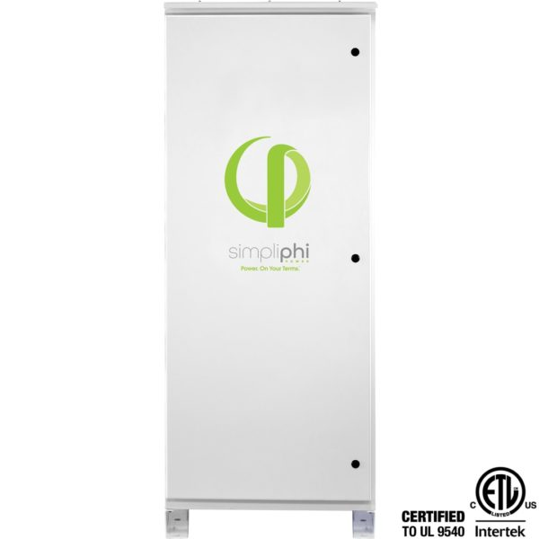 simpliphi power boss 12 battery only storage system front view ul 9540 BOSS 12