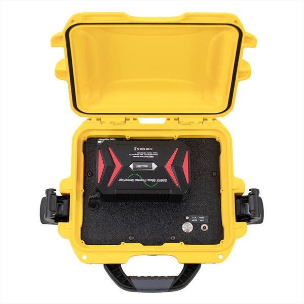 little genny emergency power kit open case view simpliphi power LG 287 12 EK