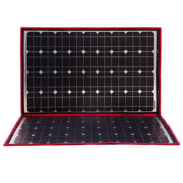 simpliphi power dokio 80 watts 12 volts monocrystalline foldable solar panel 2 LG 287 12 EK