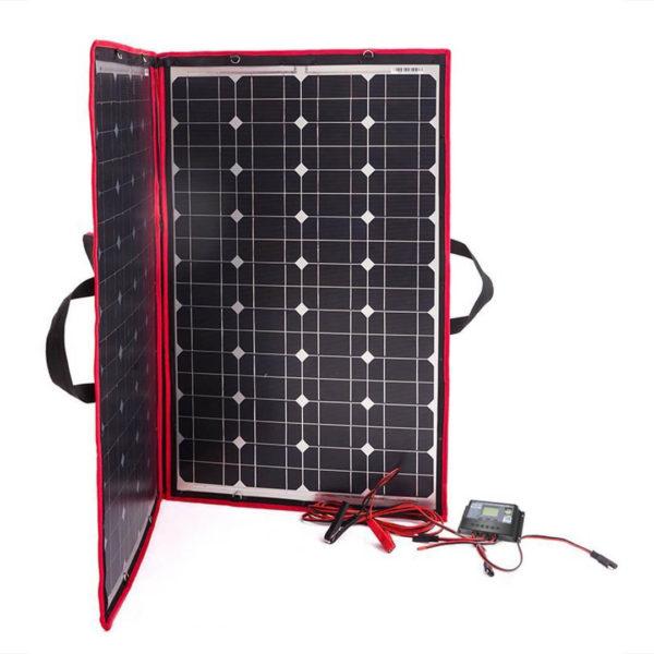 simpliphi power dokio 80 watts 12 volts monocrystalline foldable solar panel 3 LG 287 12 EK