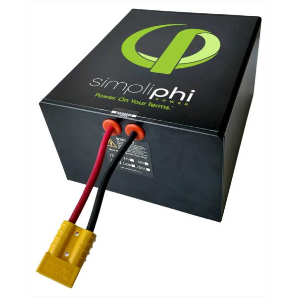 simpliphi power phi 1 2 kwh 160 amp high output battery
