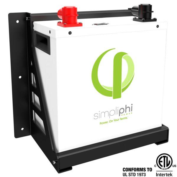 simpliphi power PHI 3 8 24 M batteries for solar energy storage