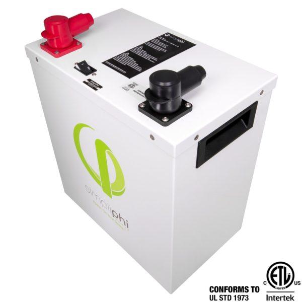simpliphi power PHI 3 8 24 M battery for sale