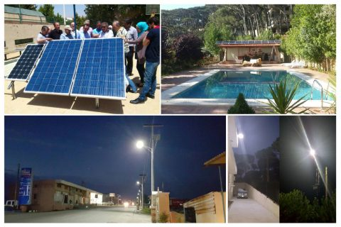Streetlight controller Lebanon project