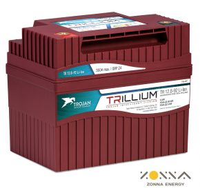 trillium li on batteries from trojan battery