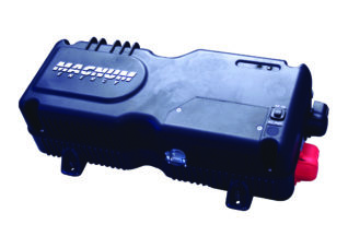 magnum energy mm1512 ae 1500 w modified sine inverter charger 120 vac 12 vdc