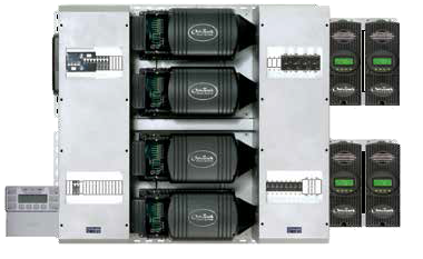 Outback Power FP4-FXR3048A Pre-Wired Quad Inverter System