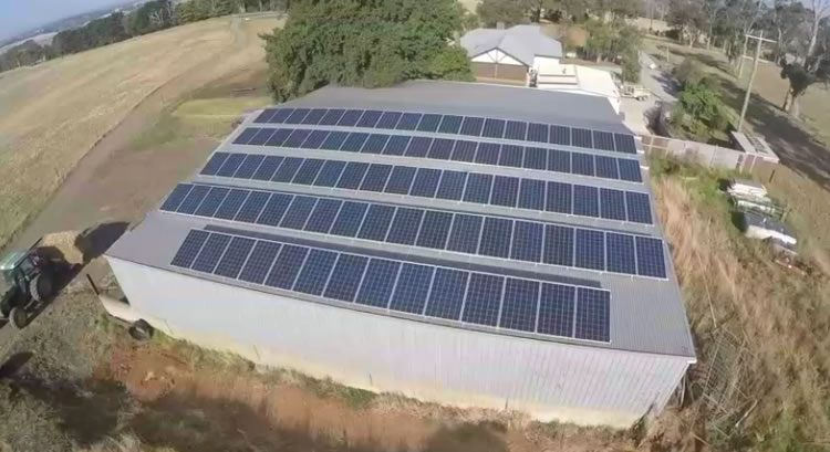 off grid solar array projects usa