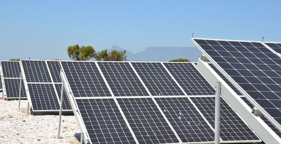 off grid solar array projects of Robben Island solar