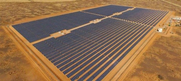 off grid solar array projects