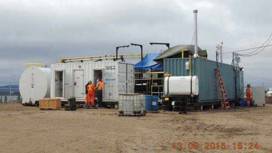 colville lake new hybrid power plant