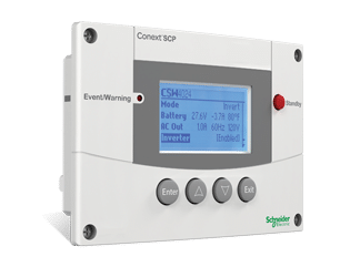 schneider electric conext system control panel scp solar accessories 2