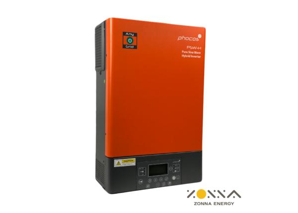 5k phocos anygrid hybrid inverter charger psw h 5kw 120vac 48v