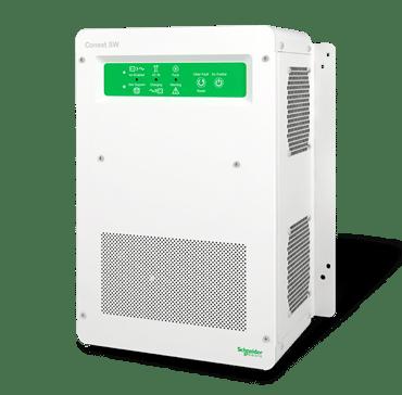schneider electric conext sw 120 240 v solar hybrid inverter system 865 2524